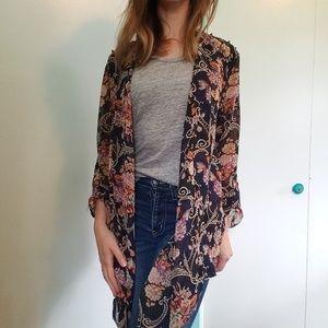 BKE floral kimono